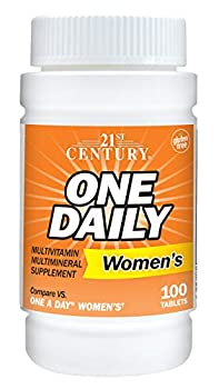 21st Century One Daily Women s Tablets 100 Count