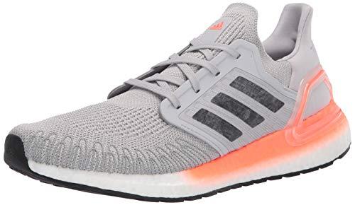 adidas - Zapatillas de correr Ultraboost 20 para mujer, gris (Gris/Noche Metálico/Signal Coral), 36 EU