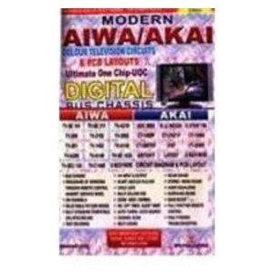 Modern AIWA / AKAI Colour TV Circuits by Manahar Lotia