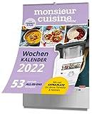 mein Zaubertopf - Monsieur Cuisine - Wochenkalender 2022: 53 Geniale All-In-One Rezepte - Küchenkalender mit Extra Platz für Termine und Notizen