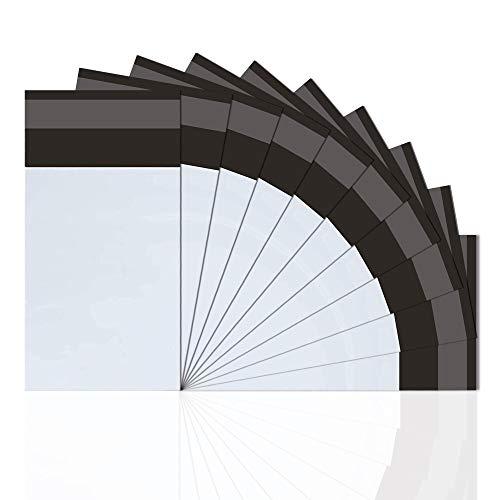 Bolsa postal de plástico 100 unidades opacos sobres Bolsas de polietileno envío no acolchadas pequeñas de 6x 10 inch (15 x 25 cm)