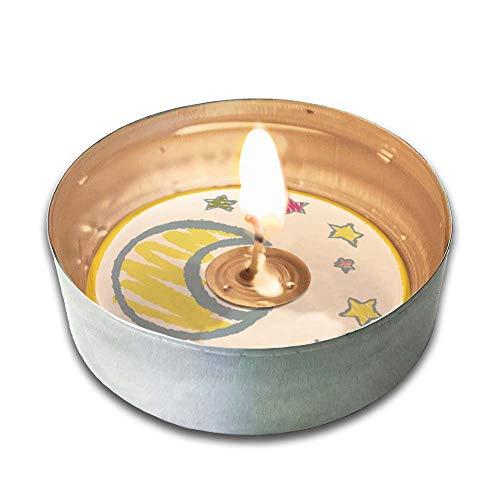 12er Pack Teelichter für TROSTLICHT Sternenkind Kerze, liebevoller Effekt, Trauer-Ritual, Sternenkinder Erinnerung, Baby Trauer, Andenken Fehlgeburt