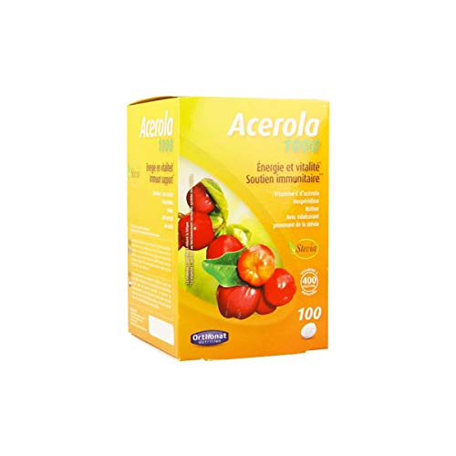 Ortho Nat Acerola 1000Mg.100 Comprimidos - 1 unidad