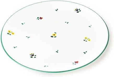 Preisvergleich für GMUNDNER KERAMIK Speiseteller Cup | Durchmesser : 25 cm | Streublume | Geschirr, handgemacht in Österreich