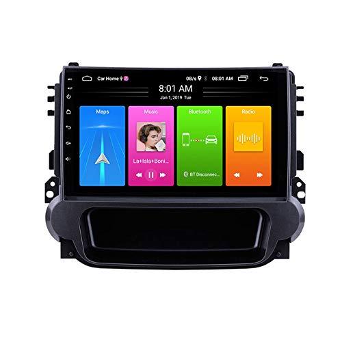 WHL.HH Carro Estéreo GPS Navegación Androide IPS 2.5D Tocar Pantalla Cabeza Unidades Carro Radio Video Multimedia Jugador Apoyo Direccion Rueda Control por Malibú 2012-2015