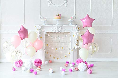 Baby 1st Birthday Decor Photography Background Newborns Child Photo Booth Backdrop for Photographic Studio Photocalls A15 9x6ft/2.7x1.8m