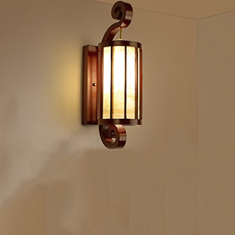 Wandleuchte Schlafzimmer Wandleuchte Schlafzimmer aus Holz Nostalgische gelbe Licht weies Licht Wandleuchten für Wohnzimmer aus Holz