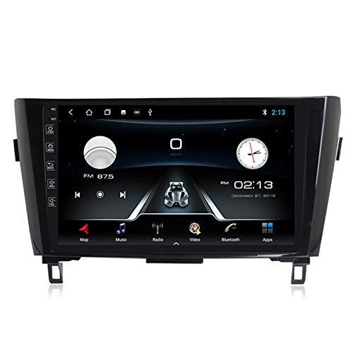 Android10.0 Radio de Coche Audio estéreo Pantalla táctil HD para Nissan X-Trail 2014-2017 con Control de Volante navegación GPS integrado Carplay+DSP(M300/PX6) con cámara trasera,Standard,M150