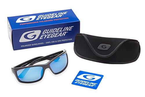 Guideline Eyegear Surface Sonnenbrille schwarz glänzend