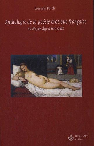 Anthologie de la poésie érotique française du Moyen Age à nos jours