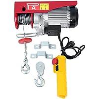 Samger Samger Eléctrico Cable Elevador de elevación 300 / 600KG Capacidad Controlar Garaje Auto tienda Gastos generales Levantar 220v 1200W