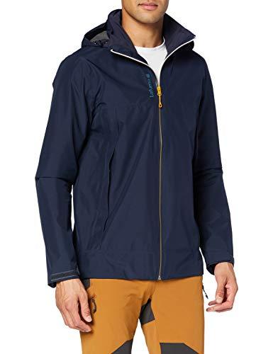 Lafuma - Way GTX Zip-In JKT M - Veste Hardshell Homme - Membrane Gore-Tex Imperméable et Coupe-Vent - Randonnée, Trekking, Lifestyle - Bleu Marine