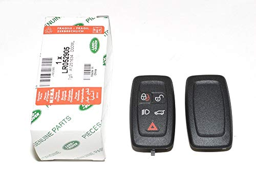 GENUINE LAND ROVER RANGE ROVER FULL SIZE L322 MODEL 2010-2012 REMOTE CONTROL KEY FOB COVER CASE COVER REPLACEMENT KEY CASING ONLY PART: LR052905 X1