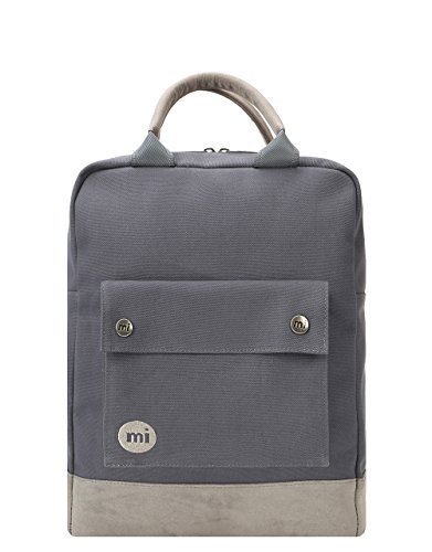 Mi-Pac Tote Backpack Mochila Tipo Casual, 40 cm, 15 Litros, CanvasCharcoal
