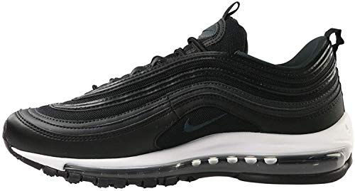 Nike Women's W Air Max 97 Competition Running Shoes, Multicolour (Black/Oil Grey/Anthracite/White 011), 4 UK