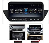 Radio estéreo para automóvil para BMW X1 2009-2012, navegación GPS Doble Din Pantalla de navegación por satélite Sistema de navegación por satélite Reproductor multimedia Receptor de video (Color: 4G