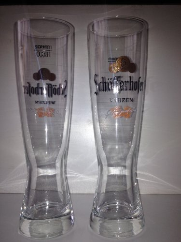 6x Schöfferhofer Weizen glas gläser 0,3l