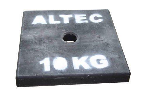 ALTEC Gerüst Ballastscheibe 10kg Rollgerüst Gewicht