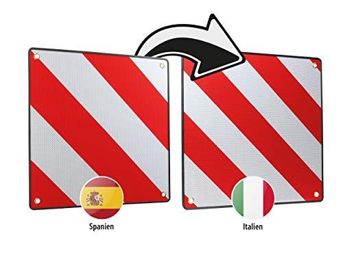 LAS Warntafel 2in1 für Spanien und Italien