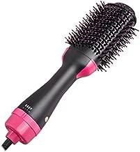 Salon One Step Hair Dryer and Volumizer, ManKami Hot Air Brush 3 in 1 Hair Dryer Brush Anti-Scald Negative Ion Hair Straightener Brush Comb Curler Styler for All Hair Types