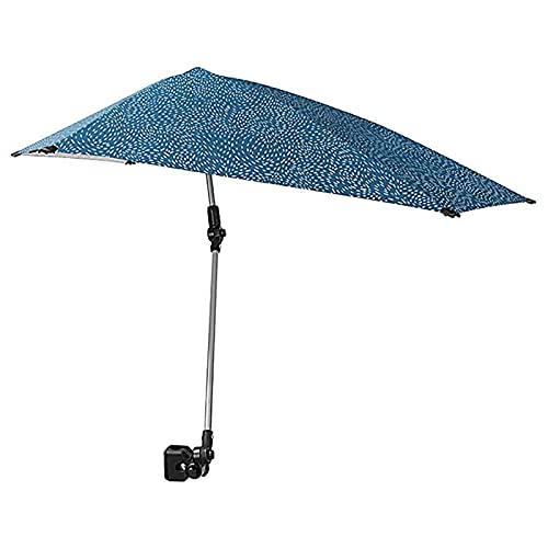 N / B Paraguas de Playa Ajustable, con Abrazadera Universal para refugios solares, Silla de Pesca Playa Paraguas para refugios de Sol, para protección Silla de Playa Paraguas