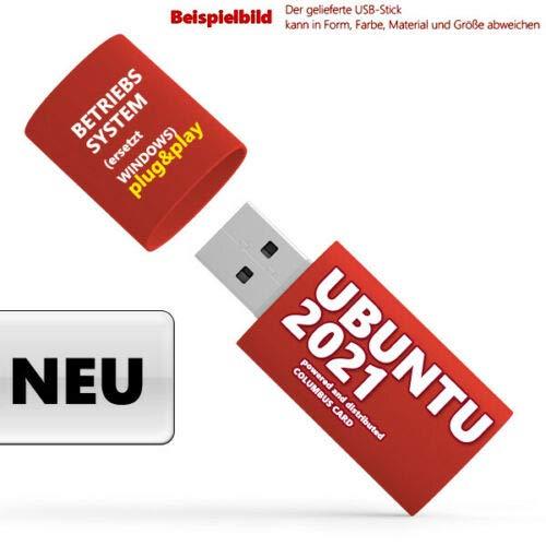 NEU: Ubuntu 2021 USB-Stick Linux Vollständiges Betriebssystem auf Deutsch
