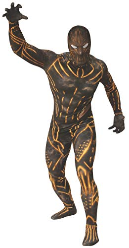 Rubie's Men's Marvel: Black Panther Movie Erik Killmonger 2nd Skin Suit, Color As Shown, Large