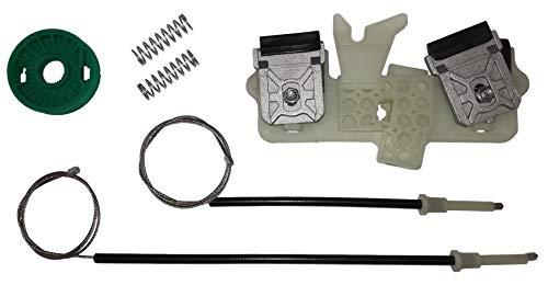 Twowinds - 1218652 Kit de reparación de elevalunas eléctrico delantero izquierdo FIESTA V 2001-2008