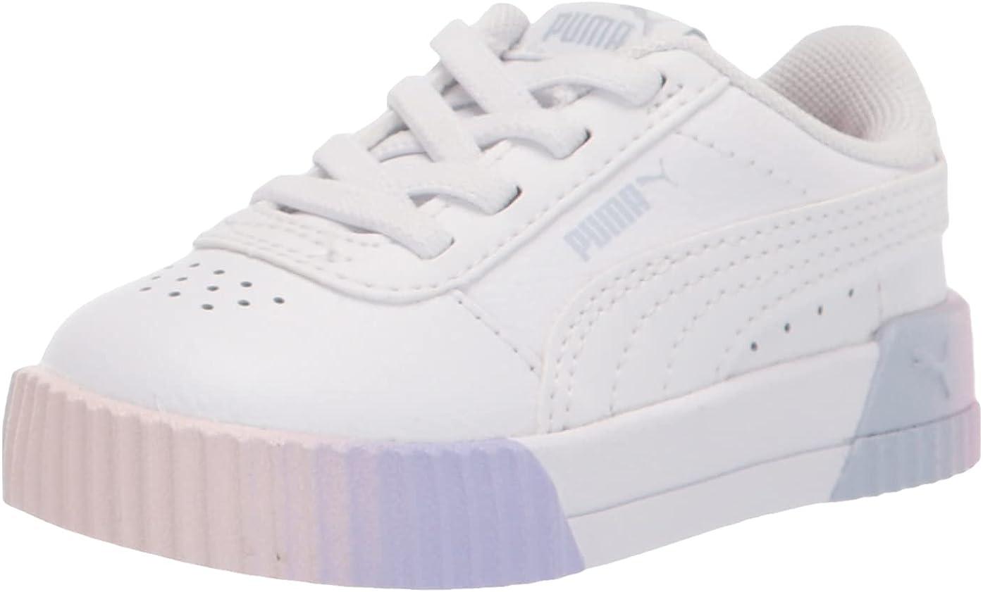 PUMA Unisex-Child Carina Fade 2 Slip on Sneaker