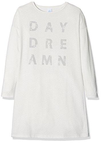 Sanetta Mädchen 244074 Nachthemd, Beige (Broken White 1427), 152