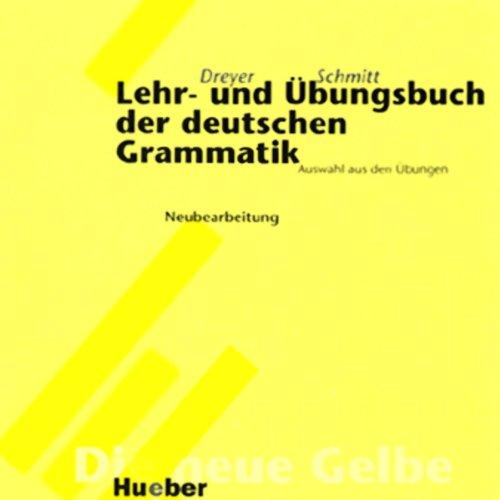 Lehr- und Übungsbuch der deutschen Grammatik - Neubearbeitung Titelbild