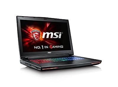 "2017 MSI GT72VR Dominator Pro-448 17.3"" 120Hz 5ms Display Powerful Gaming Laptop Core i7-7700HQ GTX 1070 16GB 256GB SSD + 1TB VR Ready"