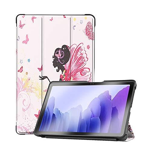 Skhawen For Samsung Galaxy Tab A7 10.4 SM-T500 T505 T507, Funda de TPU Suave Cubierta magnética de Silicona for la pestaña Galaxy A 10.4 2020 (Color : Girl)