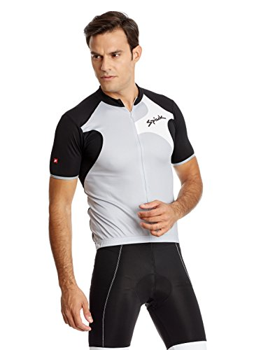 Spiuk Maillot Ciclismo Race Gris/Negro/Blanco L