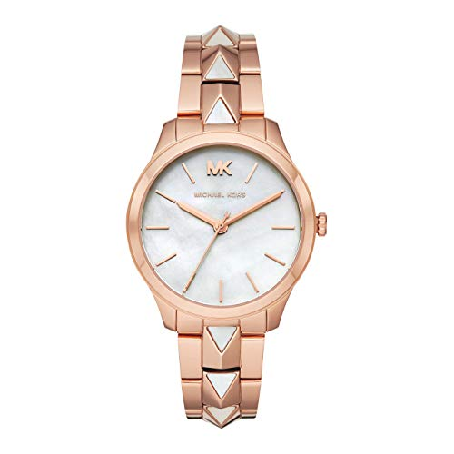 Michael Kors Womens Analogue Quartz Watch with Stainless Steel Strap MK6671