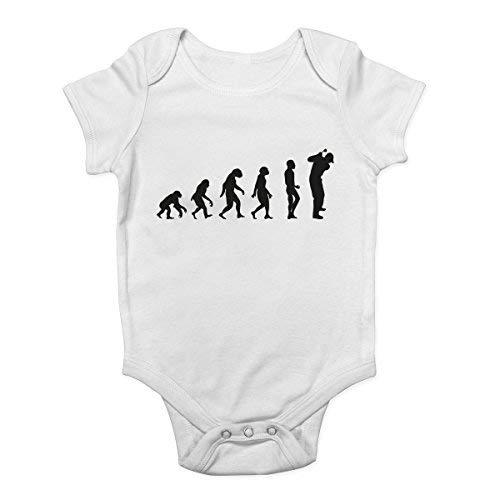Promini Body pour bébé Evolution of Golf - Blanc - 12 mois
