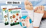 GKA 100 Stück (10 Packungen) Kinoki Detox Entgiftungspflaster Vitalpflaster zur Entgiftung als Fußpflaster Detox Foot-Pad Entgiften Pflaster Vitalpflaster Fusspflaster Entgiftungspflaster -