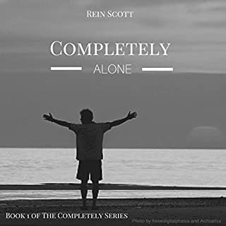Completely Alone audiobook cover art