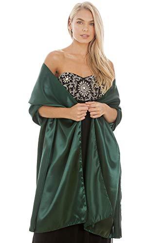 Central Chic - Chal - mujer Verde verde esmeralda