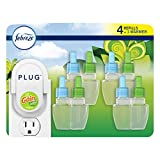 Continuously clean away household odors with Febreze PLUG Pluggable air freshener with two rotating, complementary scent chambers that cycle for 1200 hours of freshness Breathe in the classic fresh fragrance of gain original Scent Pluggable refills a...