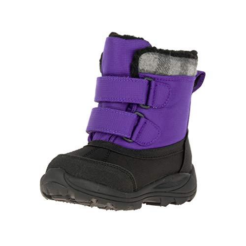 Kamik Jungen Unisex Kinder Sparky Schneestiefel, Violett (Purple PUR), 26 EU