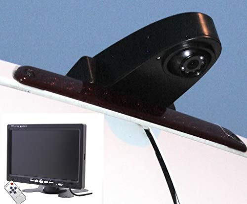 """NOYES Komplettset Rückfahrkamera Transporter mit 7\"""" Monitor und 15m Spezialkabel Sprinter Crafter Ducato Transit und viele Typen mehr Transporterkamera"""