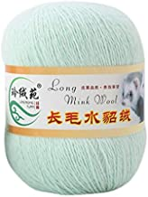 8Colors 50g Winter Long Plush Mink Yarn Soft Hand Knitting Thread for Sweater Scarf Warm Home Sewing Supply Yarn-NO.8