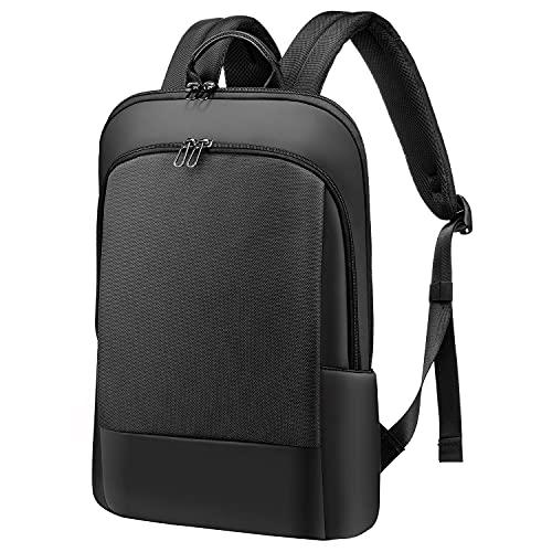 LOVEVOOK Laptop Rucksack 15.6 Zoll leicht, Rucksack wasserdicht | mit Laptopfach | Anti-Diebstahl-Schwarz