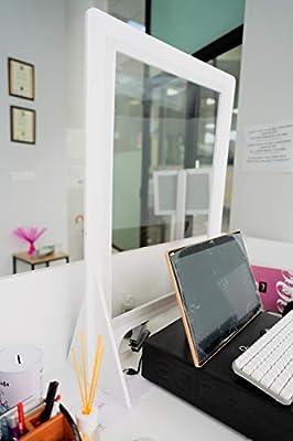 Mampara Mostrador 80x65cm con marco y peanas en PVCde 10mm, Pantalla en PVC transparente Regalo Vinilo laminado antideslizante, DISTANCIA DE SEGURIDAD 100x10CM,Super Resistente El vinilo que utilizamos es de larga durabilidad y fácil colocación, tamb...
