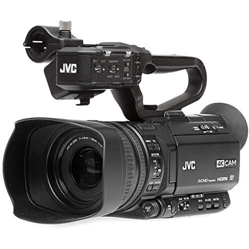Filmadora JVC GY-HM250u 4K Live Streaming SDI e HDMI com Gráficos Integrados