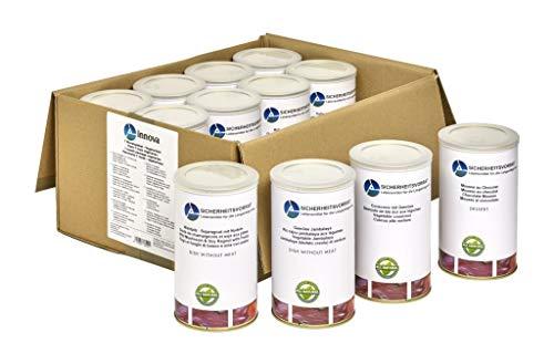 30 Tage Paket (vegetarisch) NEU | Langzeitnahrung | Lebensmittelpaket | Notfallnahrung