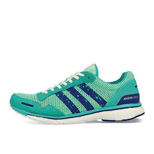 Adidas Adizero Adios 3, Zapatillas de Trail Running para Mujer, Multicolor (Mencla/Tinmis/Agalre 000), 37 1/3 EU