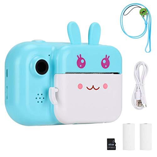 Socobeta Thermische afdrukken Instant Print Camera voor meisjes en jongens voor kinderen Geschenken (blauw)