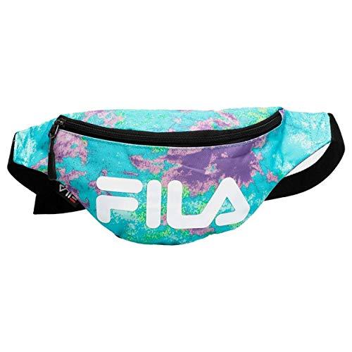 Fila - Riñonera Waist Bag Slim AOP Multicolor - 685124 - Multicolor, Talla Unica